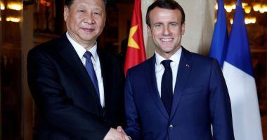Macron, Merkel şi Juncker încearcă să demonstreze unitatea europeană în faţa Chinei