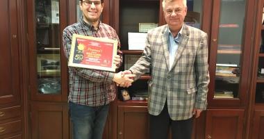 "Premiul I la ""Crizantema de Aur"", câştigat de un constănţean"