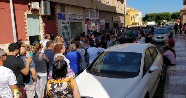 Români umiliţi la vot, la Madrid.