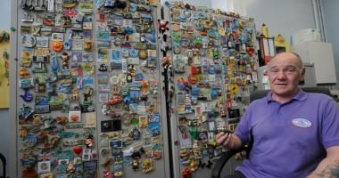 A str�ns peste 1.000 de magne�i de frigider