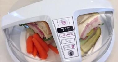"""Gadgetul care """"citeşte"""" caloriile din farfurie"""