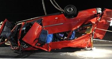 Tragedie rutieră / Imagini de la locul accidentului