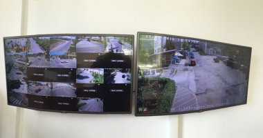 Sistemul  de supraveghere video, pus  �n func�iune  la Mangalia
