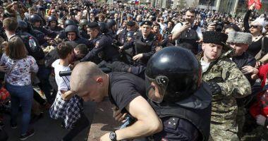 Manifestaţii anti-Putin.