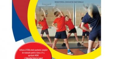 VIDEO. Cum arată manualul de Educaţie Fizică. A ajuns deja în şcolile din România