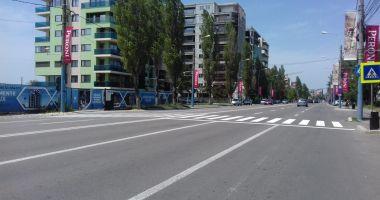 Marcaje rutiere din Constanţa, refăcute