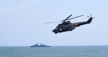 Traficul maritim din Marea Neagra, supravegheat de nave ale Forţelor Navale