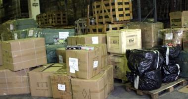 Marfă în valoare de peste 100.000 lei, confiscată în Portul Constanţa