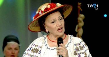 Doliu în muzica populară! A murit îndrăgita cântăreață Maria Butaciu