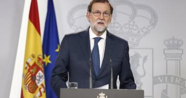 Mariano Rajoy: Spania nu va fi divizată, unitatea sa naţională  va fi apărată