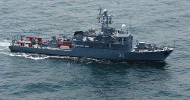 Marinarii militari români, într-un nou exerciţiu multinaţional, în Marea Mediterană