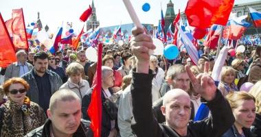 Marş împotriva represiunii statului, la Moscova
