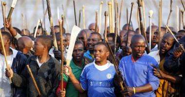 Masacru într-o mină din Africa de Sud