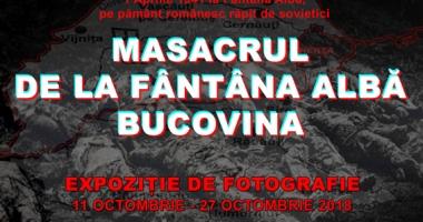 """""""Masacrul de la Fântâna Albă Bucovina"""",  un eveniment tragic, în imagini"""