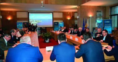 Masă rotundă dedicată transportului trans-caspic spre portul Constanța