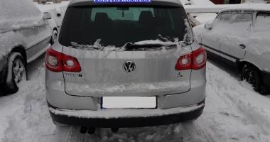 Autoturism furat din Norvegia, găsit la Constanţa