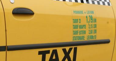 Taximetrist beat, prins la volan