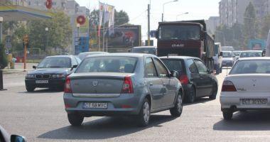 Constănţeni, atenţie! Trafic blocat pe o stradă intens circulată, din Constanţa