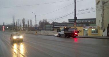 Ninge la Constanţa! Autorităţile locale au scos sărăriţele pe străzi