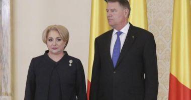 """Viorica Dăncilă: """"Aşteptăm motivarea preşedintelui pentru respingerea miniştrilor"""""""