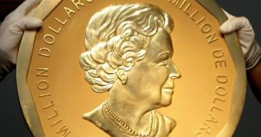 JAF DE PROPORŢII. Marea Frunză de Arţar, cea mai mare medalie de aur din lume, a fost furată