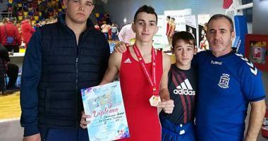 Medalii pentru  luptătorii constănţeni,  la Cupa României