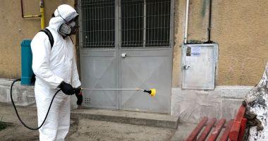 Instituțiile publice din Medgidia, dezinfectate de autoritățile locale