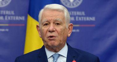 Meleșcanu, la reuniunea Consiliului de Afaceri Externe. Se discută situația din Siria