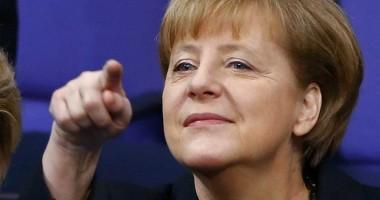 Ucraina / Cancelarul german Angela Merkel a ajuns la Kiev