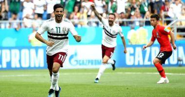 CM 2018. Mexic se impune în fața Coreei de Sud și e ca și calificată în optimi, scor final 2-1