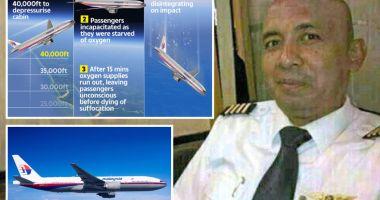Foto : Pilotul zborului MH370 ar fi înălțat avionul prea mult, intenționat, pentru ca pasagerii să-și piardă cunoștința