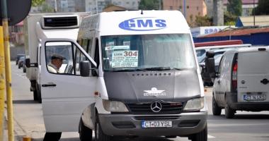 """Microbuzele GMS (linia 304) nu au ieşit, astăzi, pe traseu. """"Ştiu că urma să expire nişte avize…"""""""
