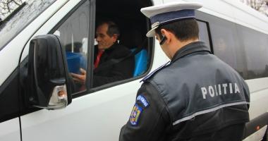 Microbuzele, taxi-urile şi căruţele din Constanţa, în vizorul poliţiştilor