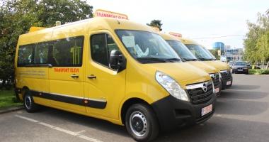 UN AJUTOR PENTRU ELEVI! 96 de microbuze școlare, DONATE