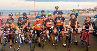 Micuții cicliști constănțeni, rezultate bune la Naționalele de la Târgu Mureș