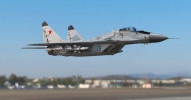 Un avion militar MiG-29 s-a prăbuşit. Pilotul a murit