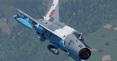 Aeronave MiG-21 LanceR și Eurofighter Typhoon, de la baza Mihail Kogălniceanu, misiune specială!