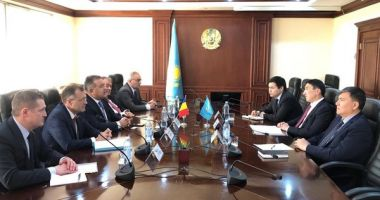 Mihai Daraban - misiune economică în Kazakhstan