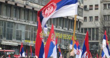 Mii de persoane au participat la proteste antiguvernamentale, la Belgrad