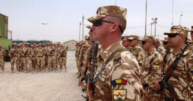Militarii români pleacă în misiune în Africa de Vest