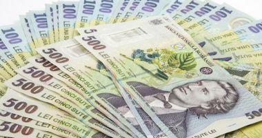 Ministerul Finanţelor a atras circa 490 milioane de lei de la bănci