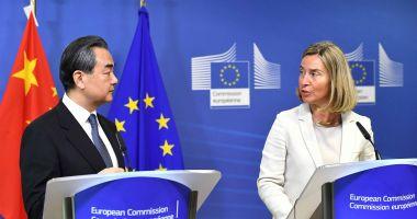 Miniştrii de Externe din UE, întâlnire cu omologul lor chinez