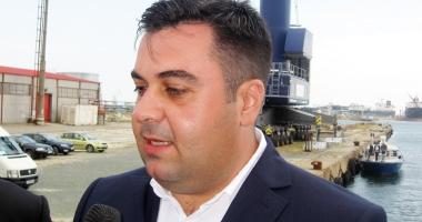 Ministrul transporturilor a efectuat  o vizită de lucru în portul Midia
