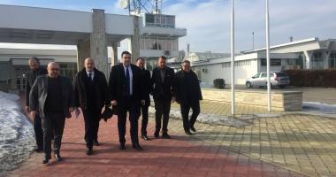 Ministrul Transporturilor în vizită, în portul Constanţa