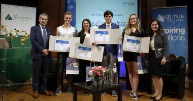 Mircistul Vlad Andrei Dogaru, în echipa europeană câștigătoare a Sci-Tech Challenge 2018