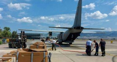 Comandantul Aeronavei C-27 J Spartan: A fost o surpriză pentru noi să vedem amploarea evenimentelor din Grecia