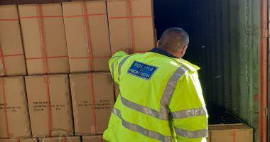 Țigări de peste un milion de euro, confiscate din Portul Constanța