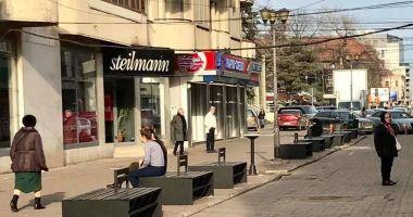 Mobilier urban nou, pe strada Ștefan cel Mare