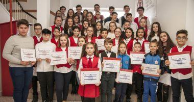"""Moment aniversar la Şcoala Gimnazială """"Lucian Grigorescu"""""""