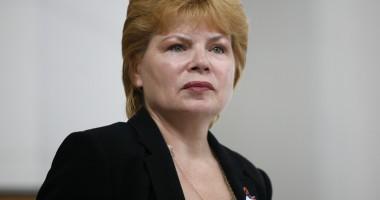 Mona Pivniceru renunţă  la funcţia de ministru al Justiţiei